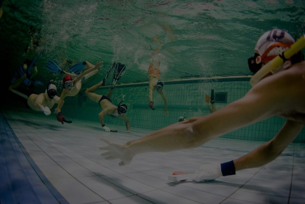 Underwater Hockey History Rules Team