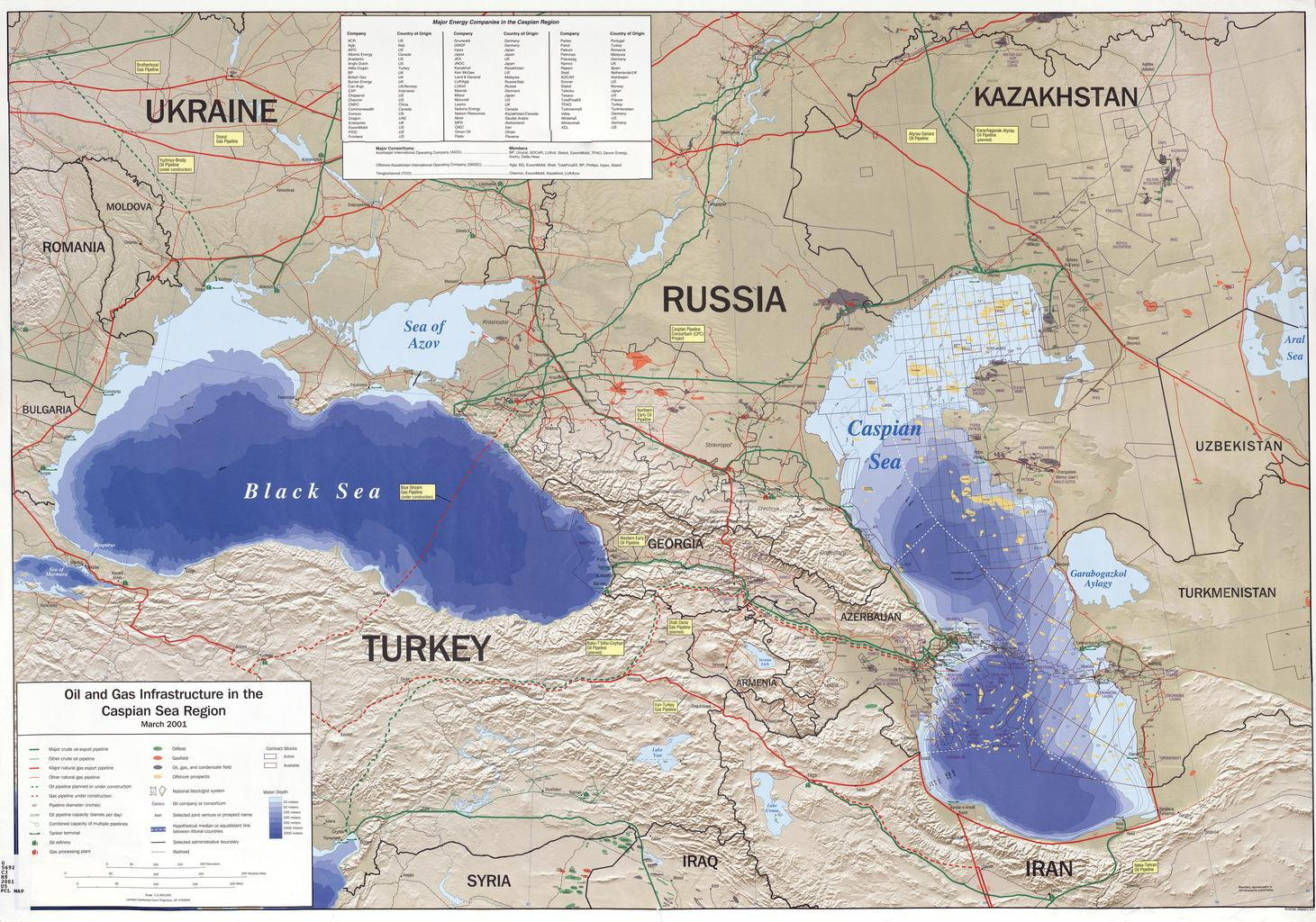 Caspian Sea | Map | Monster | Mountains