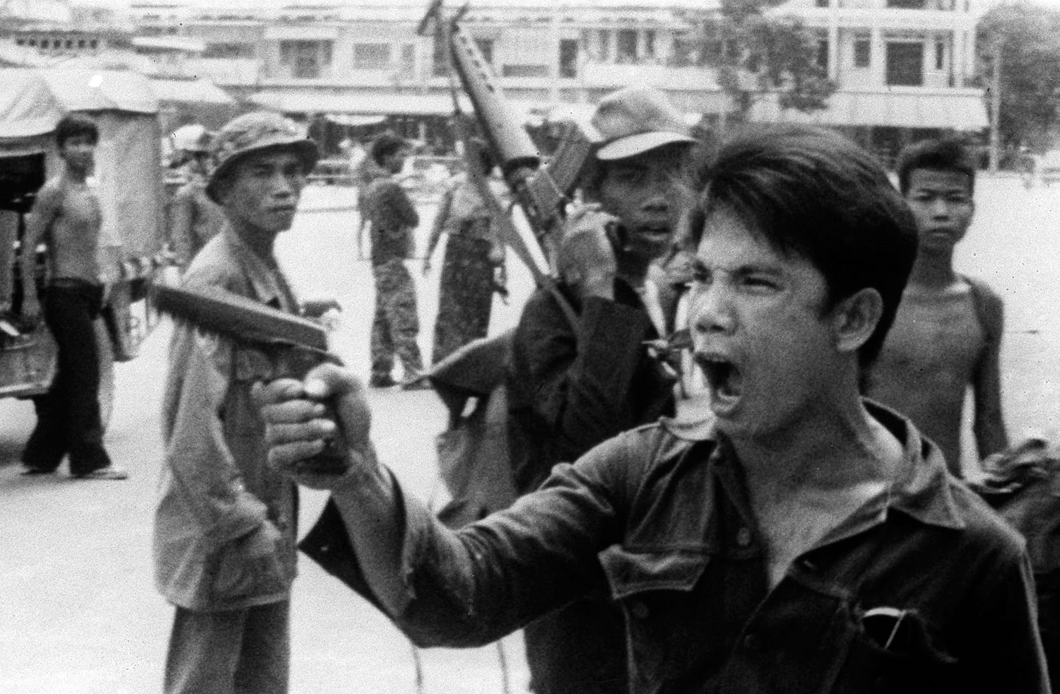 the suffering in cambodia during the khmer rouge The former foreign minister of cambodia's khmer rouge regime was  to two million cambodians during the khmer rouge rule  suffering from influenza and.