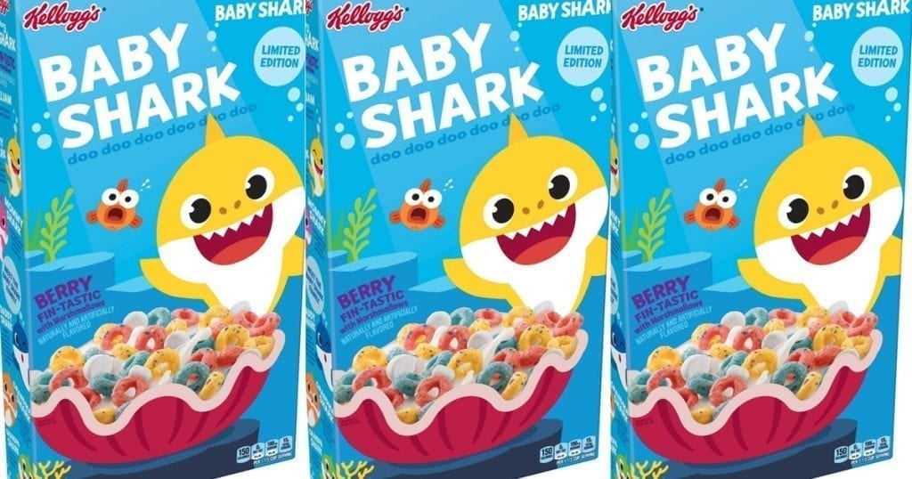 What Is Baby Shark Live Cereal